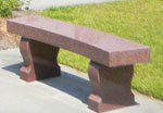 Columbarium Designers Memorial Bench